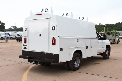 Knapheide KUVCC Utility Van Bodies for Cab Chassis