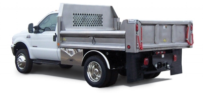 Rugby Stainless Steel Drop Side Dump Body